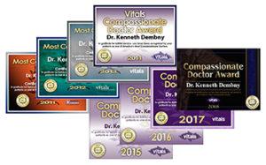 Most-Compassionate-Doctor-Award-Dr-Dembny-2011-thru-2018