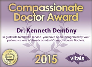 Dr Dembny-2015-Most-Compassionate-Doctor-Award