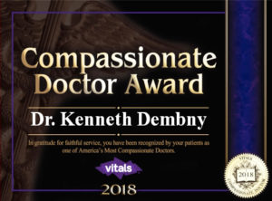Dr-Dembny-Most-Compassionate-Doctor-Award-2018